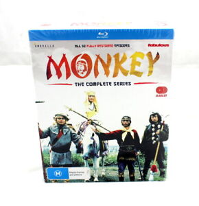 MONKEY THE COMPLETE SERIES BLURAY - BRAND NEW SEALED