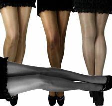 Damen transparente glanz Feinstrumpfhose Strumpfhose klassisch viele Farben