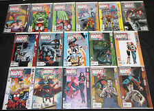 Modern ULTIMATE MARVEL TEAM-UP 16pc Count High Grade Comic Lot Spider-Man Hulk