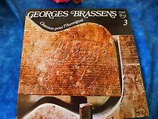 georges brassens 33T 12TITRES POUR LES AMOUREUX DE LA CHANSON FRANçAISE