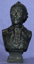 Vintage Hand Made Metal Male Bust Statuette