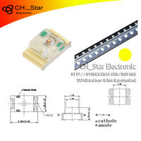 100PCS 0805(2012)SMD SMT  LED Yellow Light Emitting Diodes Super Bright