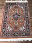 Vintage P Q O M Hand Knotted Rug