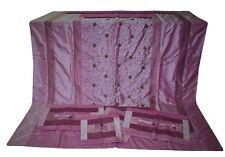 Brocade Silk Double Bed Cover Set Sheet Bedspread Coverlet Cushion Set Bedding