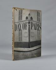 Kertesz. Day of Paris. First edition in dust jacket. 1945. Classic photo book