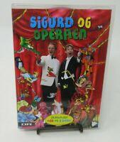 SIGURD BARRETT: SIGURD & THE OPERA, 3-DISC CD/DVD SET, REGION 2, GUC
