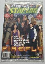 Starlog Magazine 303 Joss Whedon Firefly October 2002 Sealed In Subscription Bag