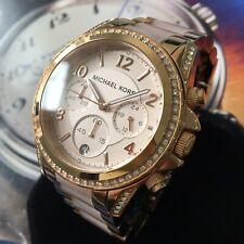 Ladies Michael Kors Designer Watch Rose Gold Chronograph MK5263 BLAIR Genuine