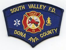 SOUTH VALLEY DONA ANA COUNTY NEW MEXICO NM FIRE PATCH