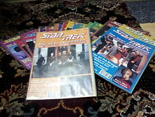 More details for star trek the next generation uk poster magazine complete set #1 to #93