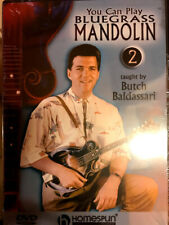 You Can Play Bluegrass Mandolin,Vol.02 - Butch Baldassari [Homespun Instruction]