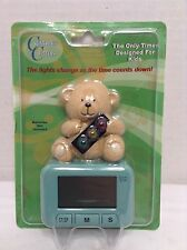 Countdown Critters Kids Timer Alarm Bear Stoplight - New In Package Green
