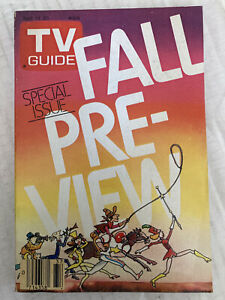 NY METRO EDITION TV Guide FALL PREVIEW Sep 14 - 20 1985  SPECIAL ISSUE