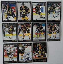1993-94 Pinnacle Boston Bruins Team Set of 11 Hockey Cards
