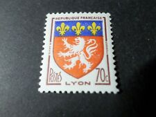 FRANCE 1958, timbre 1181, ARMOIRIES LYON, neuf**, VF MNH STAMP