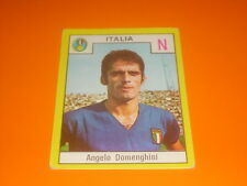 FIGURINE STICKERS ALBUM CALCIATORI RELI' 1969-70 ITALIA DOMENGHINI NEW-MAX