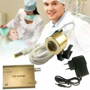 NEU Dental Scheinwerfer Licht für Zahnmedizin Lupenbrille LED Head Light Lampe