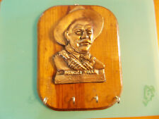 Vintage Pancho Villa Hat Key Hanging Wooden Rack History Benefits Pet Rescue