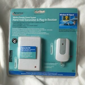 Amertac RFK106L Wireless Remote Control,Hand Held Transmitter & Plug-In Receiver