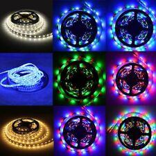 SMD 3528 5050 Waterproof 600 300 LED Strip Light Flexible IR Remote Power Supply
