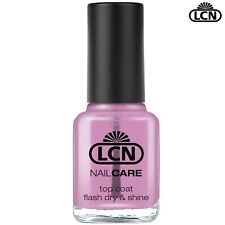 LCN Nails 8ml Top Coat Flash Dry & Shine Scratch Resistant Ultra Fast Drying