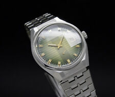 New Old Stock 70s THERMIDOR faceted crystal Mechanical vintage watch NOS FE 233