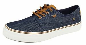 Wrangler Epic Canvas Mens Casual Lace Up Memory Foam Trainers Shoes 7 8 9 10 11