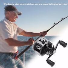 C200 17+1BB 7.1:1 Metal Magnetic Tuned Brake Low Profile Baitcaster Fishing Reel