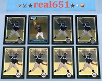 2006~2010 LORENZO CAIN Rookie-Prospect Lot x 8 RC | Bowman Chrome 1st | Brewers