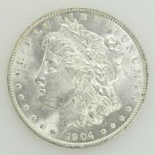 1904 O US Morgan Silver One Dollar Coin Currency