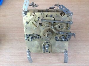 Antique Enfield Clock Movement Rare Double Westminster Chime Untested 13.5cm