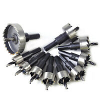 16-50mm HSS Steel Saw Tip Tipped Drill Bit Hole Cutter Tool for Wood Metal Alloy