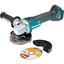 "Makita XAG04Z 18V LXT Brushless 4-1/2"" / 5"" Cut-Off/Angle Grinder tool only NEW"