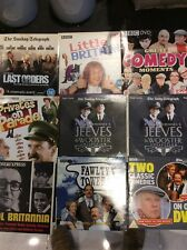 Lots Of classic Comedy Promotional DVD's Fawlty Towers Tested Excellent Films