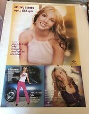 Britney Spears Oops! I Did It Again LTD ED PROMO POSTER VINTAGE NEW NM