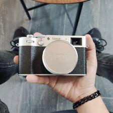 Design for Fujifilm X100V Camera Accessories Aluminum Metal Lens Cap Cover