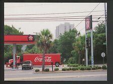 Coca Cola Coke real photo postcard RPPC Myrtle Beach, South Carolina SC truck