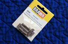 BRAWA 3044 Old Style Brown Sockets for Marklin, 2,5 mm, 10 pk, New, Ships Fast