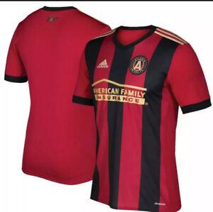 NWT Adidas Atlanta United FC 2017 Home Jersey Mens Size Medium MLS Soccer