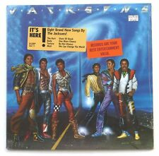 JACKSONS  LP  ** SEALED **  VICTORY   With Rare Original Hype Sticker  1984