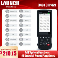 LAUNCH X431 CRP479 Automotive OBD2 Scanner ABS EPB TPMS DPF Oil Injector Coding
