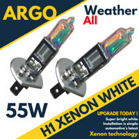 H1 55w Xenon HID Super White Effect Look Headlight Lamps Light 448 Bulbs 12v
