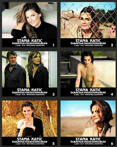 STANA KATIC 1 BOX WITH 30 COLLECTIBLE CARDS - ARGENTINA ULTRA RARE!