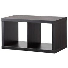 IKEA KALLAX Regal Wandregal Doppelwürfel Cube 77x39x42cm 77x42  schwarzbraun NEU