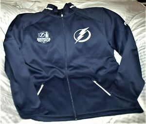Tampa Bay Lighting full zip Pro Rink jacket NWT men's 3XL 2020 Stanley Cup patch