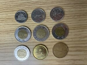 Canadian Currency Lot
