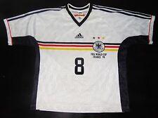 Germany WC France 98 Matthaus Home Shirt Inter Jersey Trikot Maglia Bayern