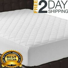 16Inch Memory Foam-Topper Mattress Cover Queen Size Bed Pad Matress Stretches