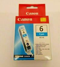 Canon BCI-6C Cyan Ink Cartridge Genuine Canon Accessory BNIB