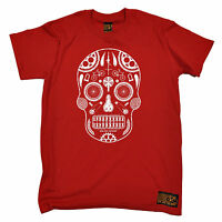 Skull Made From Bike Parts T-SHIRT tee cycling jersey funny birthday gift 123t